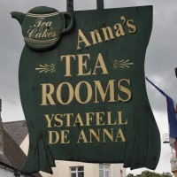 Anna's Tea Rooms on Conwy's Castle Street