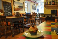 The Cupcake's eye-view of the Oystercatchers Cafe