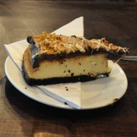 The world's richest cheesecake? Chocolate and peanut at Bea's of Bloomsbury at St Paul's