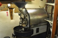 The House of Coffee's all important Coffee Roaster