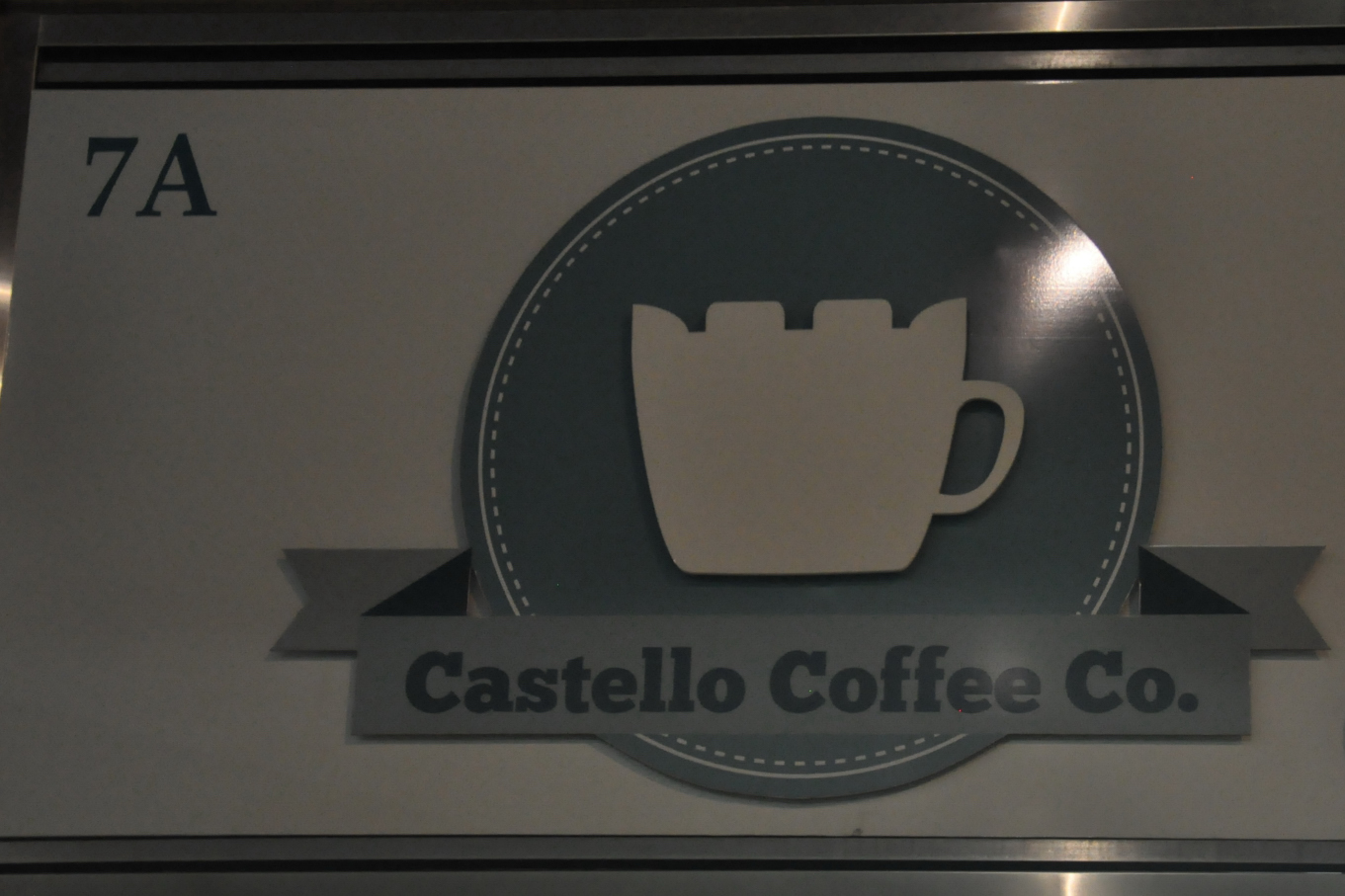 Castello Coffee's Logo at 7A Castle Street