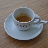 A fine Extract Espresso from Razzo Coffee, St Andrew Square, Edinburgh