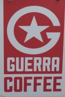 Guerra Coffee's first pop-up is in Guildford, on Friary Street, just at the bottom of the High Street