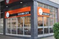 Kahawa Cafe, occupying its corner spot with pride in the centre of Coventry.