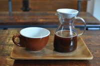 A Jimma Tencho & Welinso (an Ethiopian bean) made with the BrewT system at Le Couteau, Montreal.