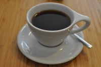 A cup of filter coffee from Full Court Press