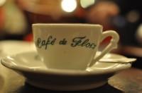 Un Cafe at the legendary Cafe de Flore
