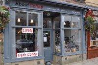 About Coffee's pleasing exterior on Church Street