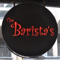 The logo of The Barista's, Chester