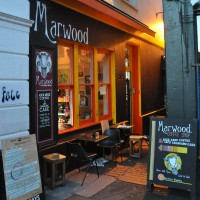 The Marwood, tucked away in an alley of Ship Street, Brighton