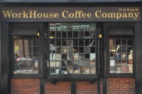 Workhouse Coffee Company on the ground floor of the George Hotel in Reading