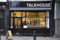Talkhouse Coffee, as seen from the opposite side of Portobello Road