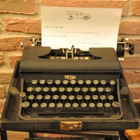 Goodge Street Espresso's Famous Manual Typewriter
