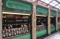 The retail side of Pumphrey's Brewing Emporium, Granger Market, Newcastle