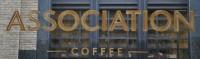 Association Coffee as written on the window in the store on Creechchurch Lane