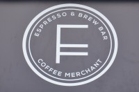 The Fortitude Logo proudly proclaiming its status as Espresso & Brew Bar combined with Coffee Merchant.
