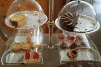 The cake trolley at Betty's of Harrogate
