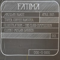 A drawing on the wall of Artisan Roast's Gibson Street branch showing the location of the Toper Roaster, Fatima, which was removed in April 2013.