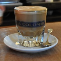 A magnificent decaf cortado from La Colombe, 270 Lafayette Street, NYC