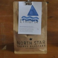 A bag of Ethiopian Rocko Mountain Reserve beans from North Star Coffee Roasters in Leeds.