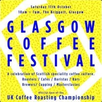 The poster for the 2015 Glasgow Coffee Festival