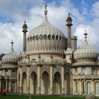 The iconic domes of Brighton Pavillion