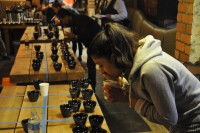 Sonali Tailor, who finished third in this year's Tasters Cup, in action at the final in Cup North.