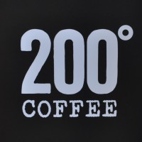 The 200 Degrees Coffee Logo