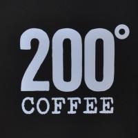 The 200 Degrees Coffee Logo