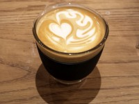 Amazing latte art in my JOCO Cup at Notes, Canary Wharf.