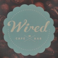 The Wired Cafe Bar logo from the sign hanging outside on Pelham Street.