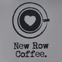 The New Row Coffee logo, taken from the sign hanging outside the shop