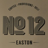 Coffee * Provisions * Deli | No 12 | Easton - Details from a sign on the wall of No 12 Easton