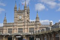 Bristol Temple Meads station, part of Brunel's Great Western Railway