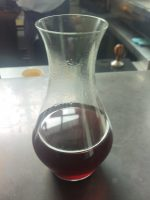 A carafe of an Ethiopian single-origin coffee from Koppi made through the Clever Dripper at Lyle's in London.