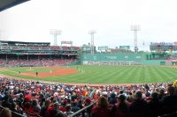 Fenway Park, home of the Boston Red Sox, during a game between the Red Sox and Minnesota Twins on 3rd June 2015. Boston won, 6-3.