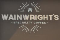 The Wainwright's Speciality Coffee logo from the store in Clifton, Bristol.