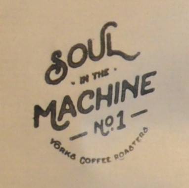 Detail from the front of the packaging of one of the bags of Yorks Coffee Roasters coffee.