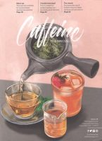 The front cover of Issue 28 of Caffeine Magazine: the Tea Issue.