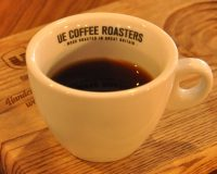 An Ethiopian Aramo, made through the Chemex, served in one of Ue Coffee Roasters' excellent cups.