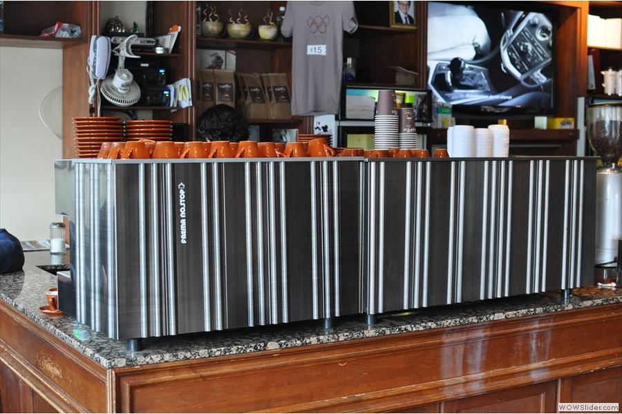 A monster of an espresso machine!