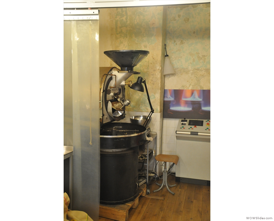 On my original visit in 2013, Coutume was still roasting the coffee at the back of the store.