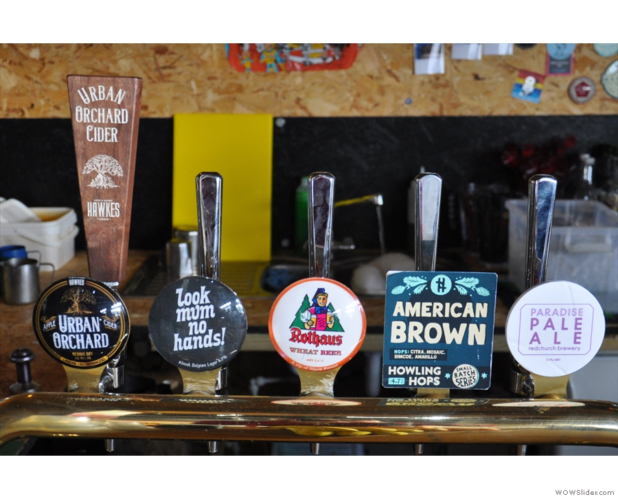 Even more beer (and cider) taps!
