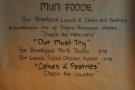 Muni's food philosophy.