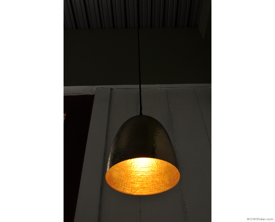 One of the lights in detail.