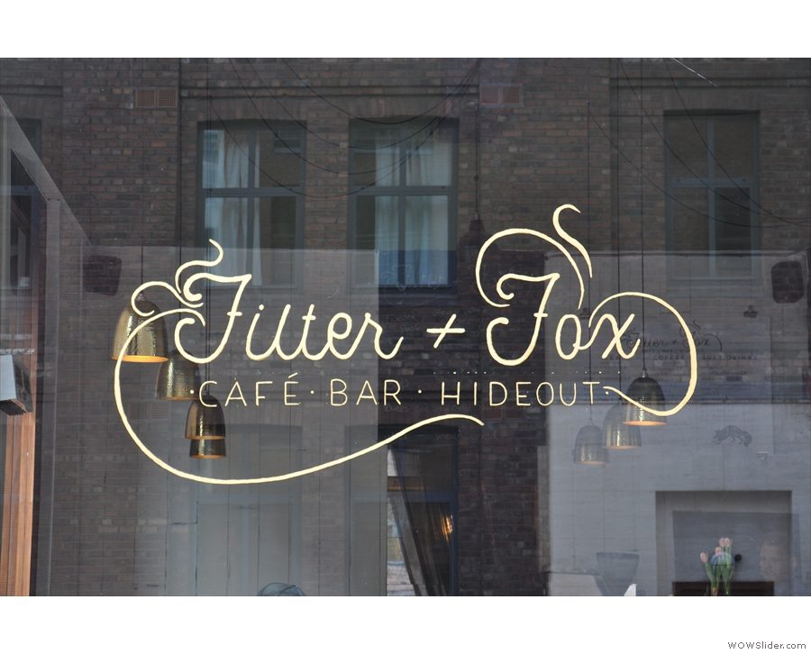 Cafe, Bar & Hideout? Sounds my kind of place!