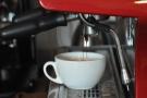 Espresso in a cup.