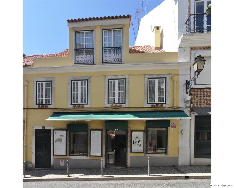 Copenhagen Coffee Lab... on Rua Nova Da Piedade in Lisbon!