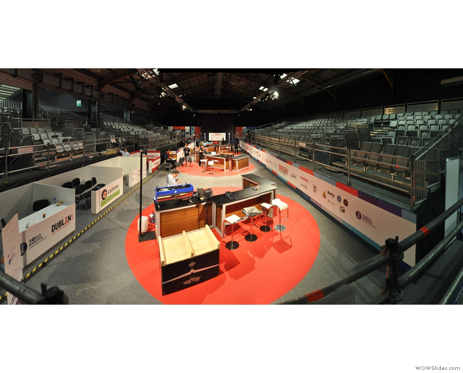 World of Coffee hosted the World Barista Championships. I didn't see a single performance!