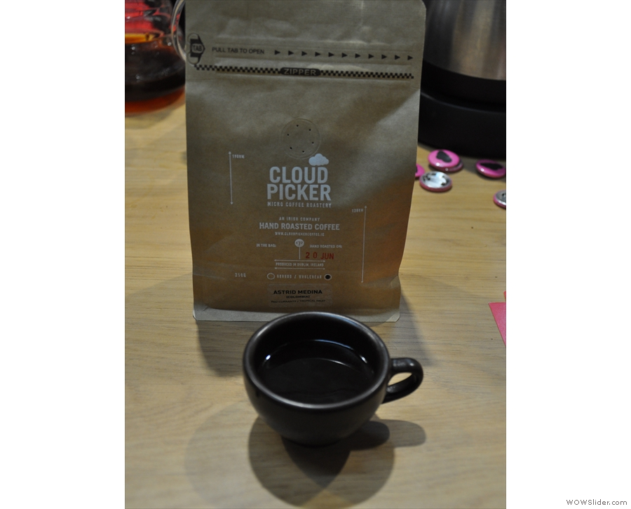 ... and Cloudpicker, which had made the long journey from Dublin, with this Colombian.